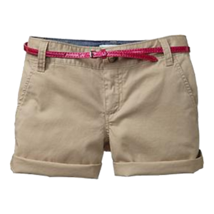 Girl's Belted Shorts