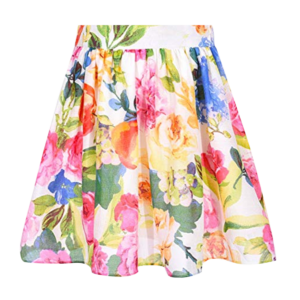 Girl's Printed Skirts