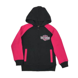 Girl's Knitted lined Fleece Hoodie