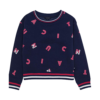 Girl's Letter Printed Sweat Shirts