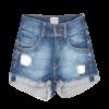 Girl's Rolled Hem Shorts