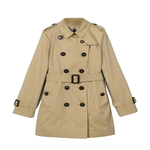 Girl's Twill Lapel Front Jacket