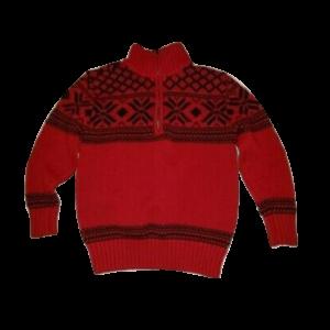 Girl's Lightweight V-Neck Sweater