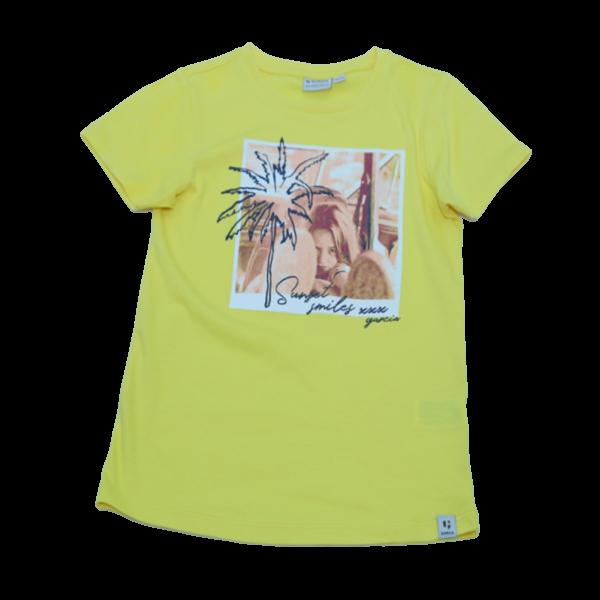 Girl's Tree Printed T-Shirt