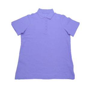 Women's Buttoned Pique Polo
