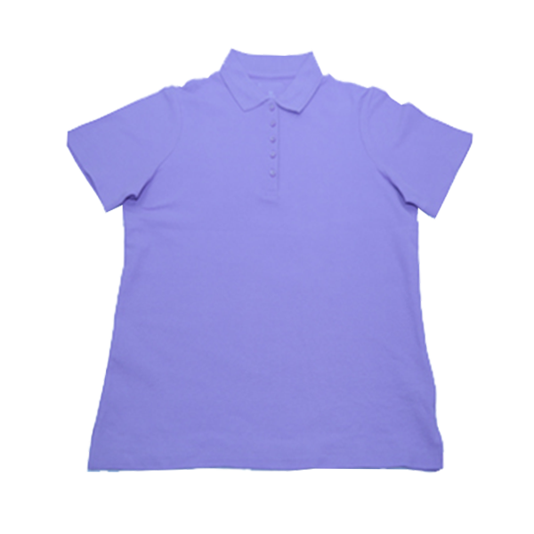 Women's Buttoned Pique Polo