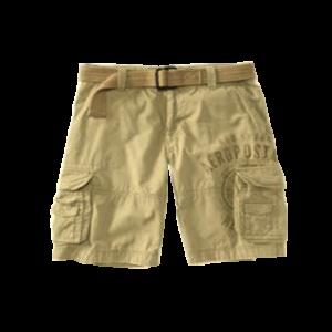 Men's Belted Cargo Shorts