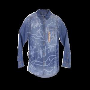 Women's Long Sleeve Print Shirt