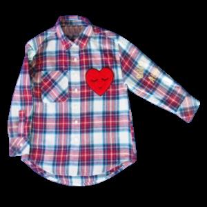 Girl's Long Sleeve Check Shirt