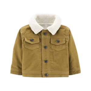Boy's Sherpa Lined Cord Jacket