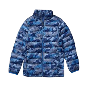 Boy's Camo Quilted Jacket