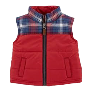 Boy's Flannel Top Block Quilted