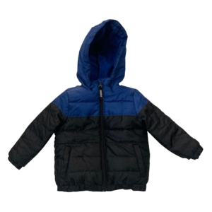 Boy's Quilting Zip Through Jacket