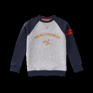 Boy's  Tri-Blend Fleece Crewneck Sweatshirt