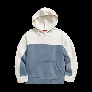 Boy's Fleece Color Blocked Hoodie