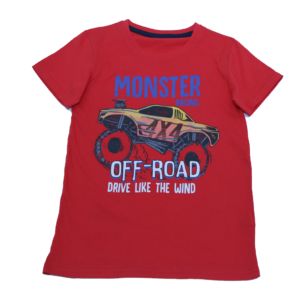 Boy's Off Road Printed T-Shirt