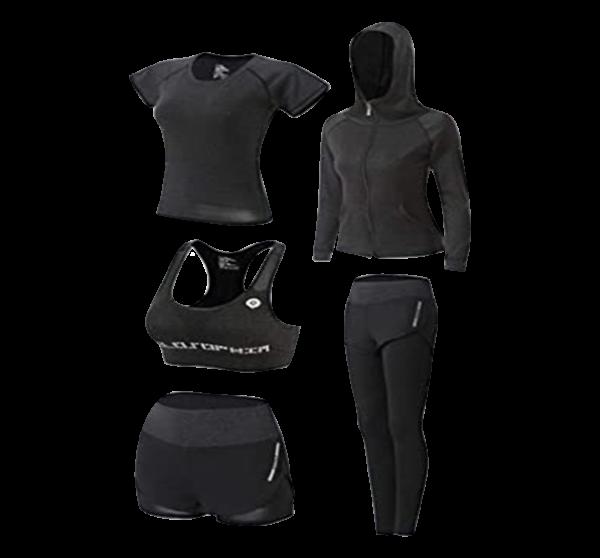 Women's 5pcs Set Sportswear