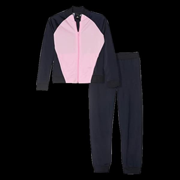 Women's 2 Piece Sweatshirt & Sweatpants Full Zip Tracksuits Sportswear with Pockets