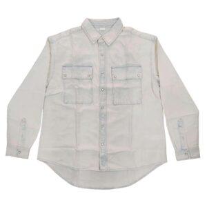 Women's Colored  Denim  Shirt