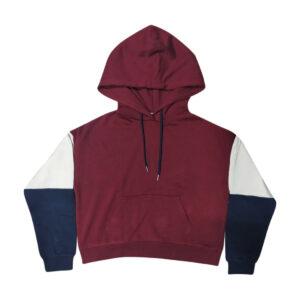Ladies Color Block Fleece Jacket